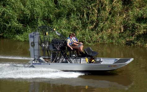 Police Airboat by Law Enforcement Airboat Afrika
