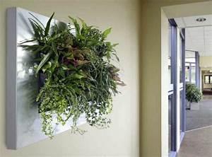 Pflanzen An Der Wand : wanddeko mit pflanzen livepicture erfrischt das ambiente ~ Markanthonyermac.com Haus und Dekorationen