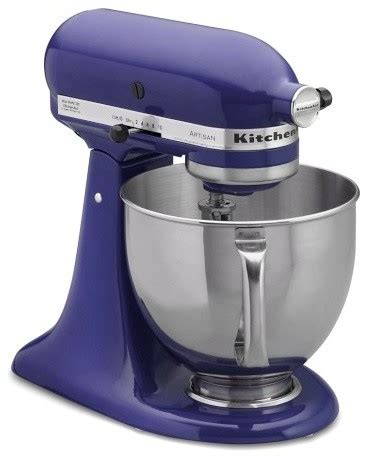 Kitchenaid Artisan Stand Mixer, Cobalt Blue Contemporary