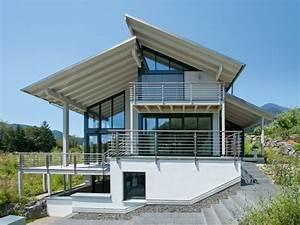 Häuser Mit Pultdach : fertighaus von baufritz haus eliasch ~ Markanthonyermac.com Haus und Dekorationen
