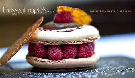 des desserts simples et rapides pour no 235 l recette dessert rapide