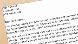 Recommendation Letter Sample for Business School
