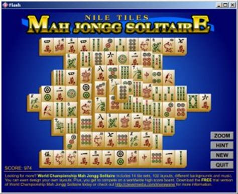 nile tiles mahjongg solitaire for free