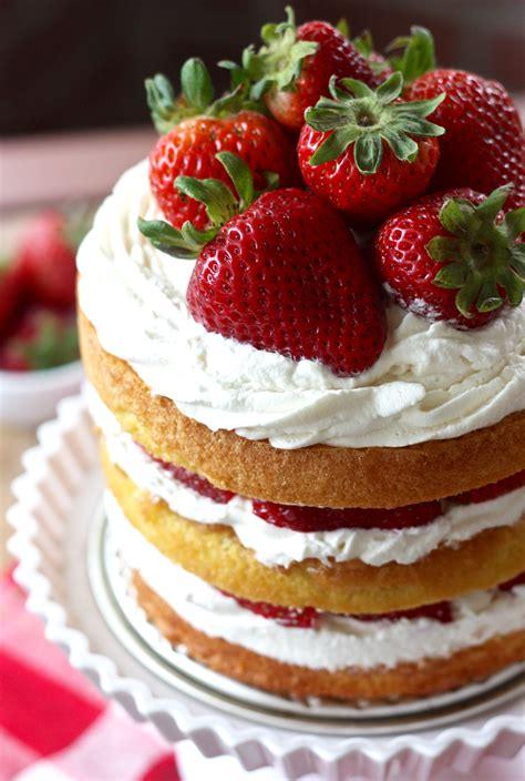 strawberry shortcake with food cake strawberry shortcake layer cake nifymag