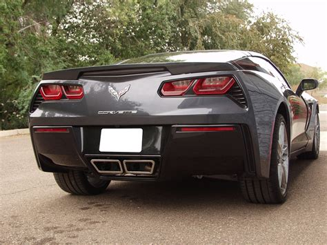 Stingray Boats License Plate by C7 Corvette Stingray 2014 Billy Boat Bullet Exhaust