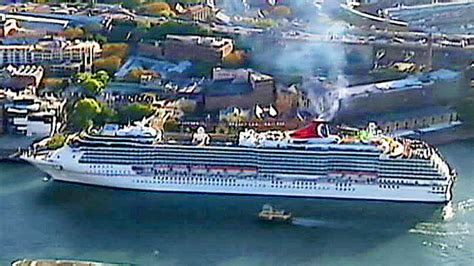 Boat Crash Good Morning America by Carnival Cruises Reports 2 People Missing Overboard In