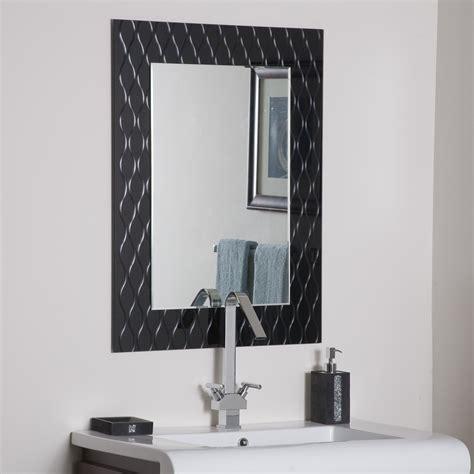 decor strands modern bathroom mirror beyond stores