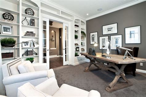 delmar lotto home previous showhome by shane homes contemporary home office calgary by