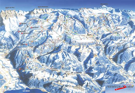 domaine skiable avoriaz station et pistes de ski avoriaz ski planet