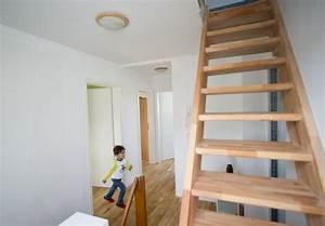 Treppe Zum Dachboden Einbauen : bodentreppe als platzsparender zugang zum dachboden ~ Markanthonyermac.com Haus und Dekorationen