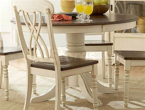 White Round Dining Room Table  Marceladickcom