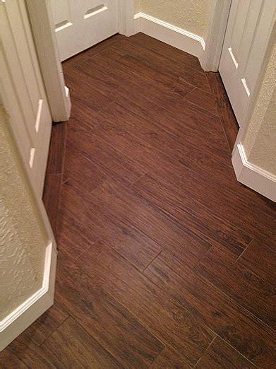 wood look plank tile installation ta florida