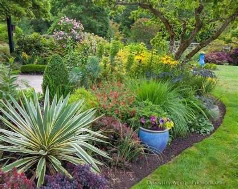 Vashon Island, Wa Perennial Garden Bed Featuring