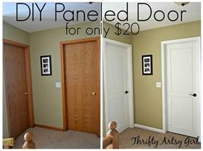 from hollow bore to a beautiful updated door diy