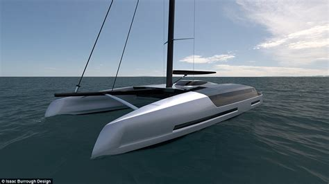 Catamaran Design Features by Sailing Catamaran Designed By New Zealand Born Isaac