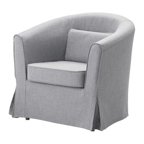 tullsta housse de fauteuil nordvalla gris moyen ikea