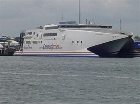 Catamaran Condor Ferries by Condor Ferries Catamaran In Poole 169 Colin Foot Cc By Sa