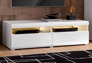 Lowboard Weiß Hochglanz 3m : roomed lowboard breite 140 cm online kaufen otto ~ Markanthonyermac.com Haus und Dekorationen