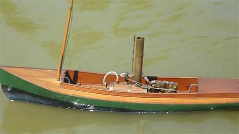 Model Steam Boat Youtube by Saito Star Model Rc Live Steam Launch Underway Youtube