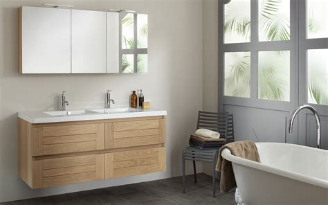 meubles salle de bains en ch 234 ne massif lignum espace aubade home armoires