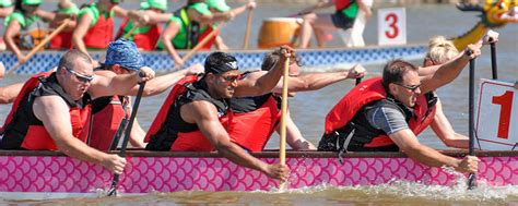 Dragon Boat Racing Okc by Race Schedule Boathouse District