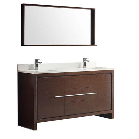 60 inch sink bath vanity in wenge brown with top uvfvn8119wg60
