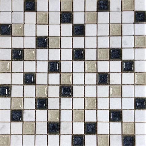 marble discount blue moon glass mosaic wall tile 1 quot x 1 quot at menards 174