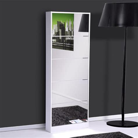 meuble chaussure avec miroir ikea
