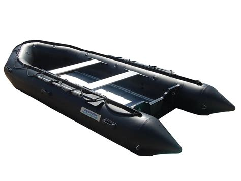 Zodiac Boat Red by 14 Ft Inflatable Boat Pro Heavy Duty Military Black