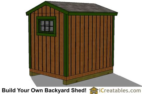 6x8 shed plans storage shed plans icreatables