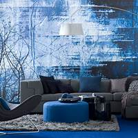 interesting blue home design ideas Interesting Blue Color Schemes For Living Room ...
