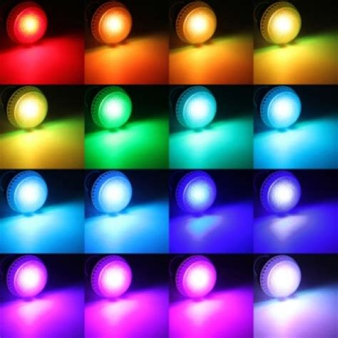 10watt Color Changing Led Light Bulb With Remote Control