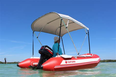 Sun Marine Inflatable Boats saturn quot miami quot 11 9 red inflatable boat with aluminum floor