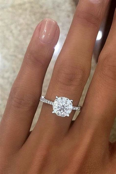30 Top Round Engagement Rings  Pinterest  Campaign. Odd Engagement Rings. Extra Petite Engagement Rings. Memorial Rings. Say Yes Wedding Rings. Italian Rings. Teething Rings. Dubai Rings. Meaningful Engagement Wedding Rings