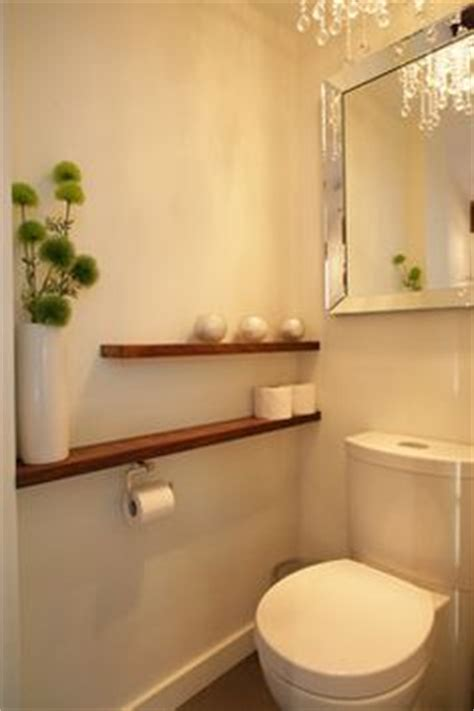 nature toilettes and branches on