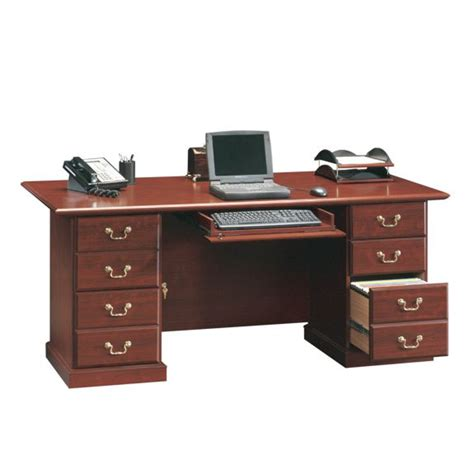 sauder heritage hill 71 in executive desk 109843