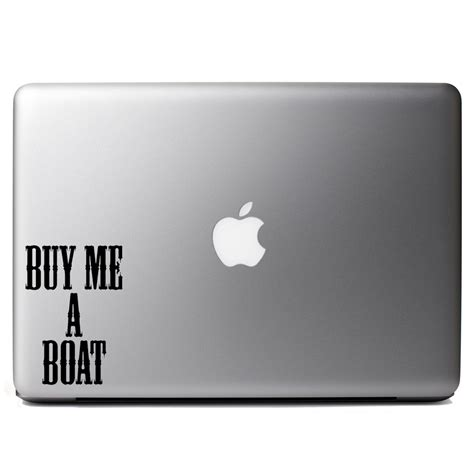 Boat Song Funny by Funny Buy Me A Boat Country Song Vinyl Sticker Laptop Decal