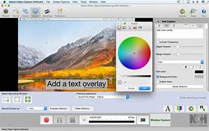 Debut Video Capture Software on the Mac App Store