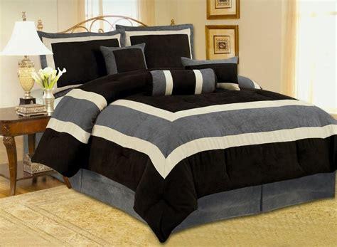 Mens Bed Comforters  Luxury Bedroom Design with Beautiful