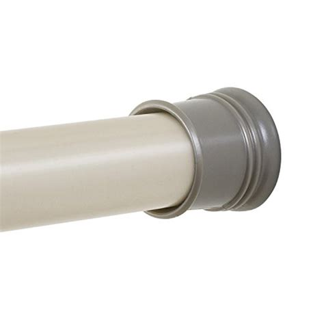 zenna home 505st tension shower curtain rod 44 to 72 inch brushed nickel no ebay