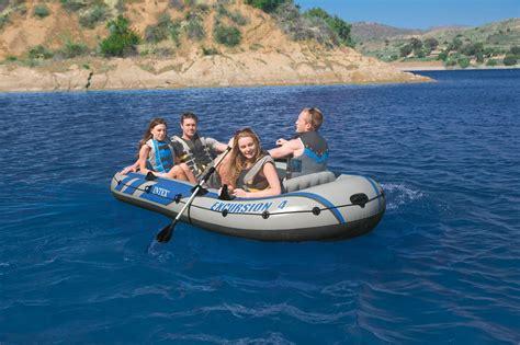 Opblaasboot Voor 4 Personen by Intex Excursion 4 Opblaasboot Set Kopen Frank