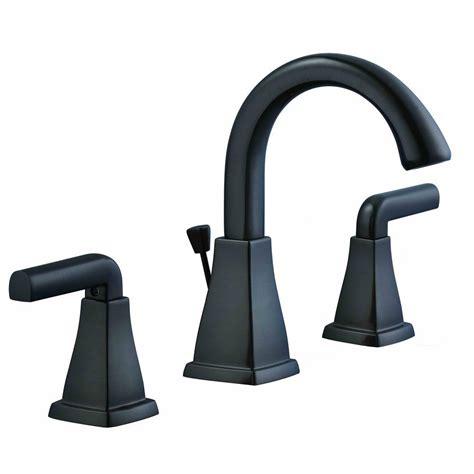 glacier bay brookglen 8 in widespread 2 handle high arc bathroom faucet in rubbed bronze