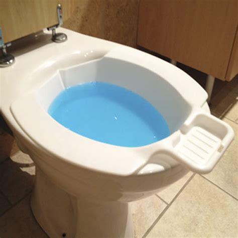 New Portable Travel Toilet Bidet  White Seat  Soap Tray