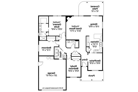 Ranch House Plans-eastford-associated Designs